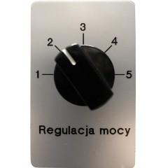 Regulacja mocy ultradźwięków (5-stopniowa)